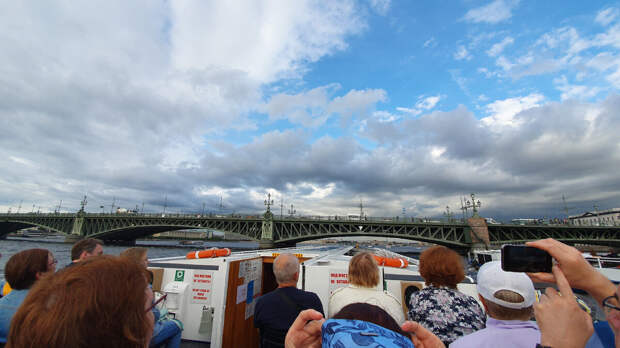Троицкий мост. Город Санкт-Петербург