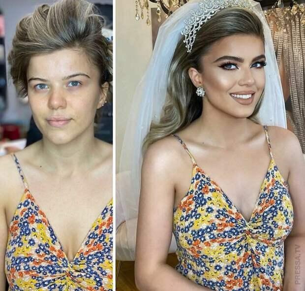 Великолепный свадебный макияж