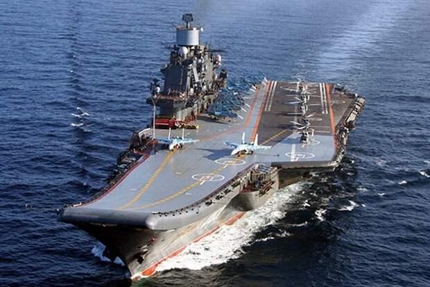 Источник назвал стоимость и сроки начала ремонта «Адмирала Кузнецова»