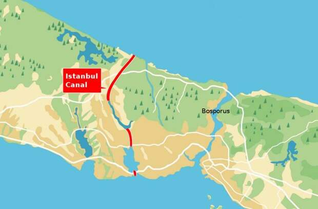 Босфор мелеет: Зачем Турции нужен новый канал в Черное море