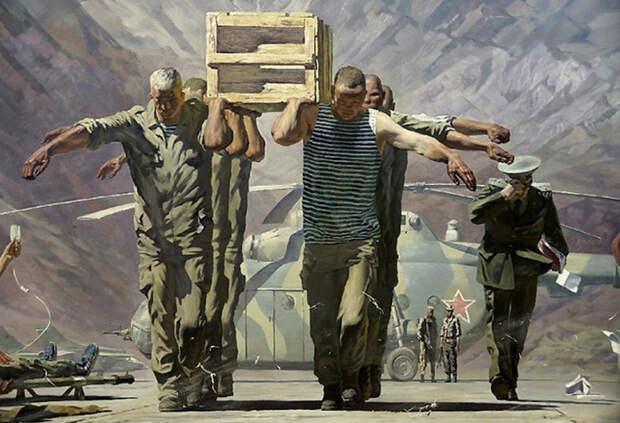 10 лет последней советской войны на полотнах художников: Почему Афган никого не вдохновил на шедевр