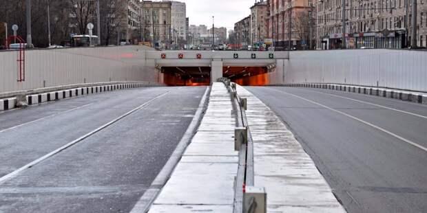 На проспекте Маршала Жукова завершён ремонт автомобильных ярусов