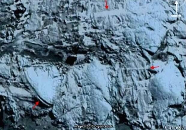 Мёртвые города в Антарктиде