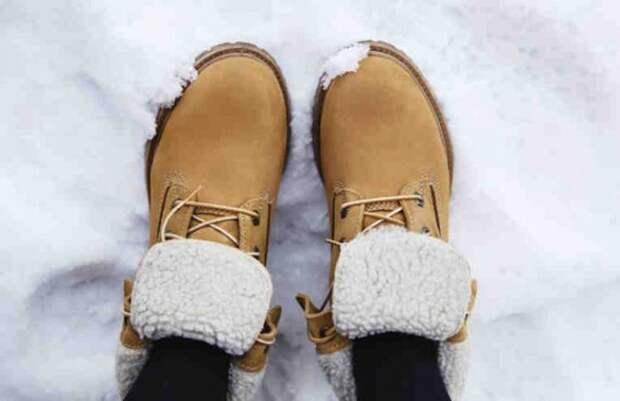 Как сделать, чтобы ноги зимой не мёрзли