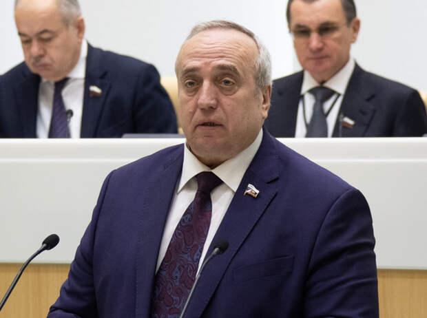 Клинцевич высказался за блокировку Facebook и WhatsApp в России