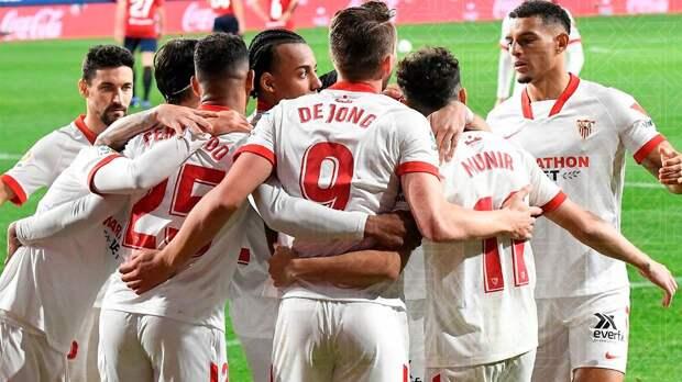 «Севилья» на выезде обыграла «Леванте», «Валенсия» уступила «Осасуне» в Ла Лиге