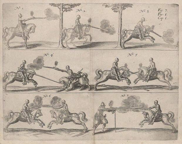 От копья к пистолету. Эволюция конных солдат с 1550 до 1600 год