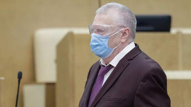 Жириновский: «Маски нужно носить везде без исключения. Только вРоссии царит анархия вэтом вопросе»