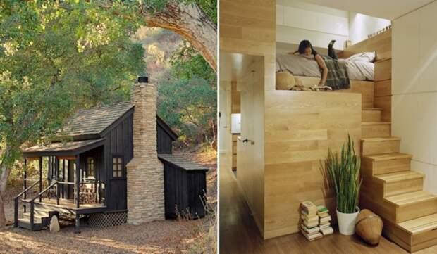 7 крошечных домов, каждый сантиметр которых используется с умом
