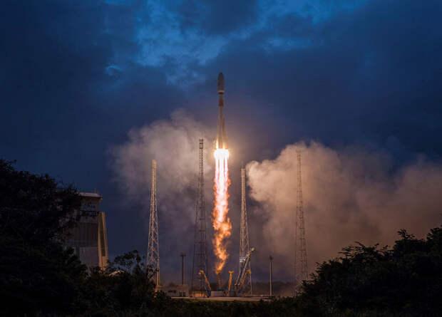 Ракета «Союз СТ-Б» вывела на орбиту первые спутники системы глобального интернета OneWeb