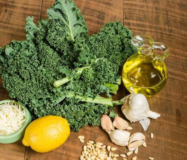 Кудрявая капуста – модный овощ
