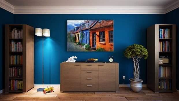 Стены, Мебель, Дизайн, Квартира, Комната