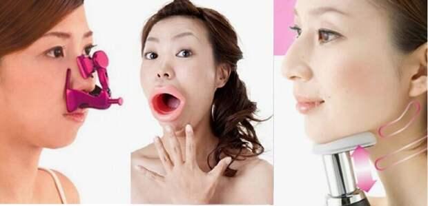 Заостритель носа, удлинитель рта иподниматель скул: 10 странных бьюти-гаджетов