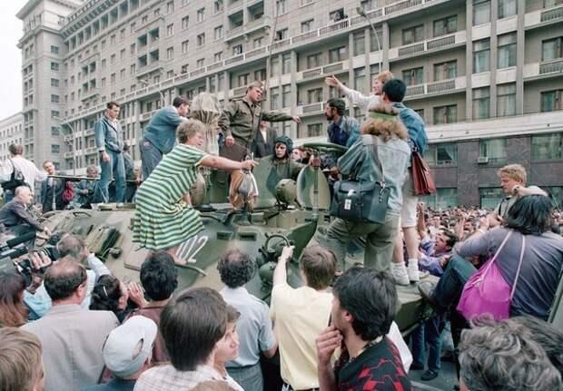 Москва. 19 августа, 1991 года.