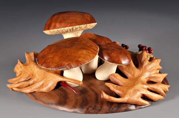 Удивительные вещи из дерева