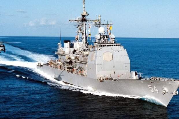 Как Китай применил тяжелый БПЛА против американского крейсера