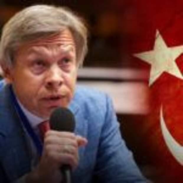 Пушков оценил заявление Эрдогана о найденном Турцией газе в Черном море
