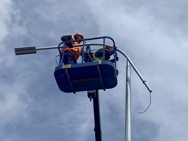 Фиолентовское и Монастырское шоссе снабдят умной подсветкой