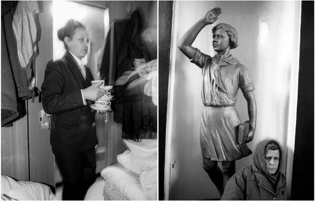Фотографии Вальтера Шмитца, сделанные во время путешествия по России в 1995 году.