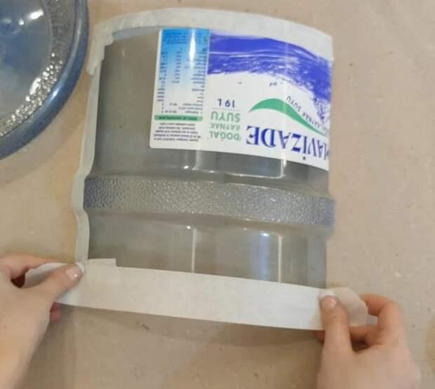 Идея перевоплощения 19-литровой бутылки