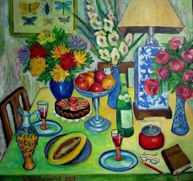 Выставка живописи откроется на Митинской