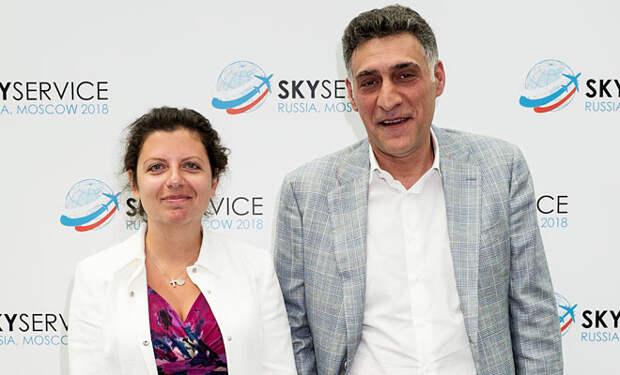 Маргарита Симоньян и Тигран Кеосаян перестали скрывать детей: видео