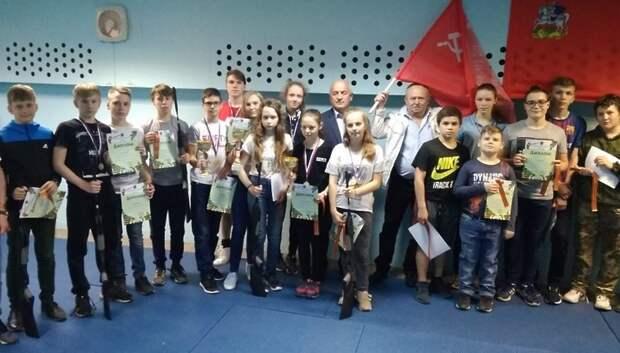 Победителей турнира по стрельбе из винтовки определили в Подольске