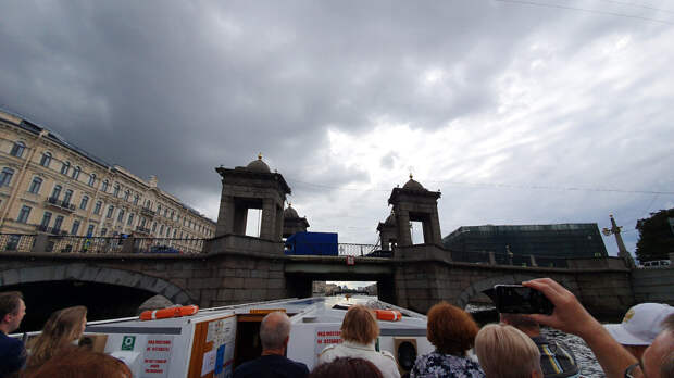 Мост Ломоносова. Город Санкт-Петербург