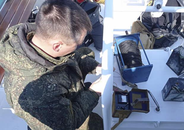 Боевые пловцы отряда ПДСС Черноморского флота обезвредили подводную мину времён Великой Отечественной войны