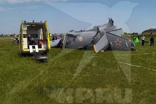 СК проводит проверку после крушения самолета в Кемеровской области