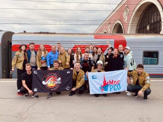 Студенческий строительный отряд МАДИ отправился на стройку в Озерск