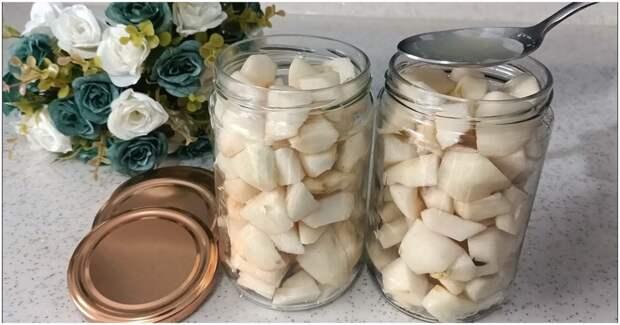 Самый простой способ заготовки груш на зиму. Сохраните вкус и аромат свежих фруктов