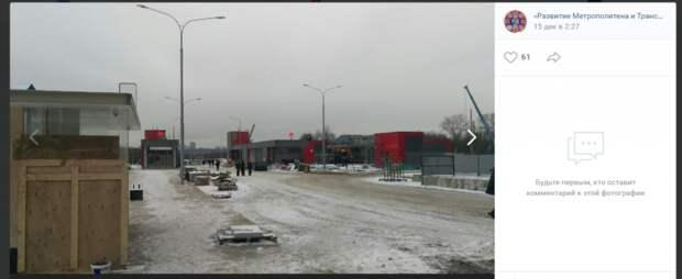 Станцию БКЛ «Мнёвники» готовят к открытию