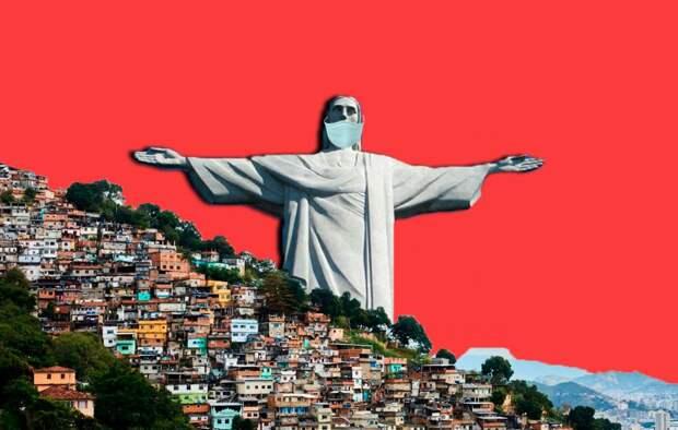В Бразилии за соблюдением комендантского часа следят преступники