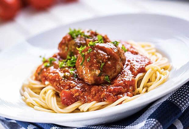 Паста с фрикадельками: настоящий итальянский рецепт