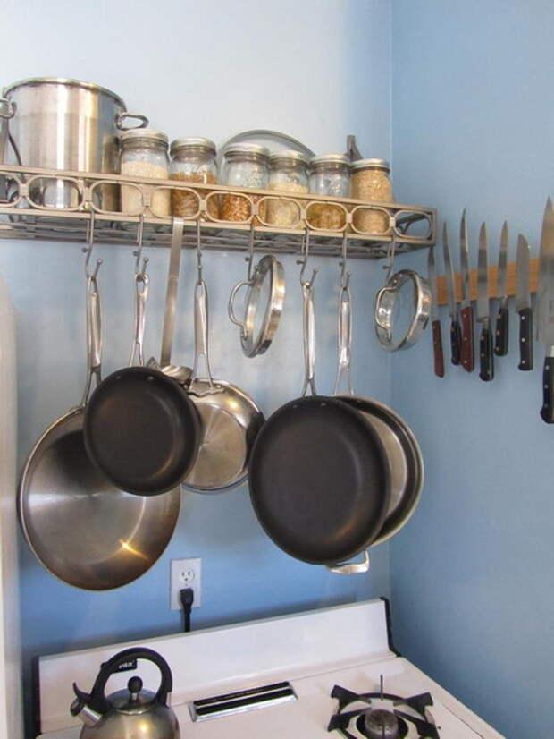 Рейлинги для кухни фото 14
