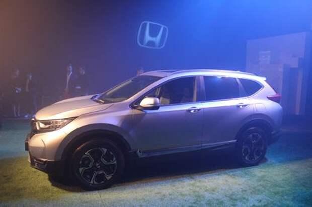 Новая Honda CR-V приехала в Россию: названы цены