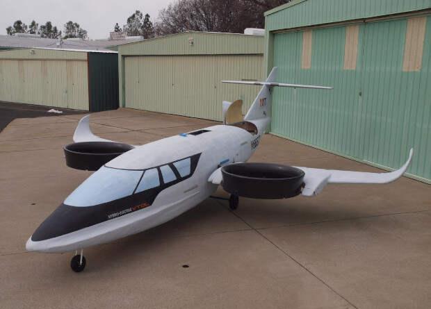 Американцы собрали первый летный прототип трехвентиляторного гибридного самолета