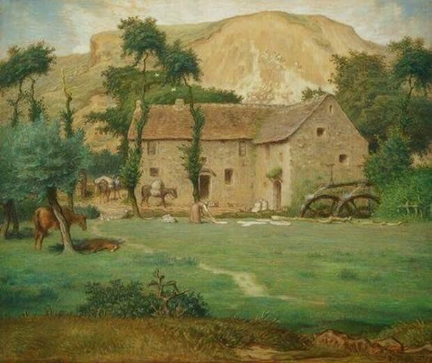 Millet_Jean-Francois-The_Farm_House