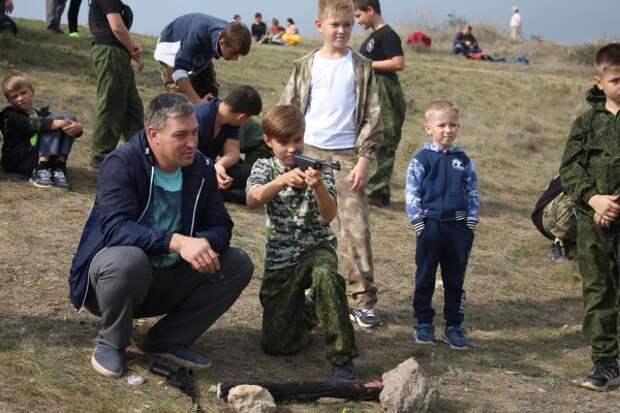 В Севастополе прошло воссоединение в военно-патриотическое движение
