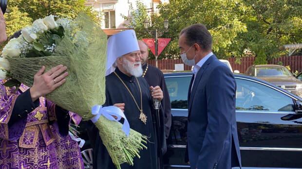 Губернатор Кубани встретился с митрополитом Павлом