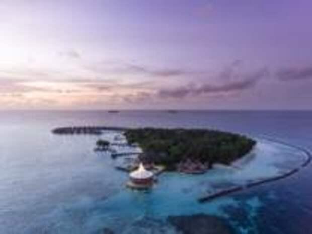 Обновление клятв на райском острове Baros Maldives