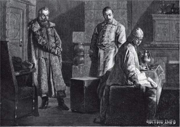 Княгиня Анастасия Слуцкая и месть отвергнутого жениха
