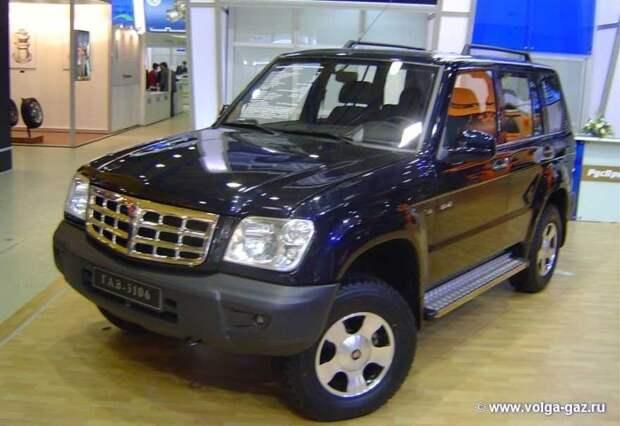 ГАЗ-3106 автомобили, газ, фоторепортаж