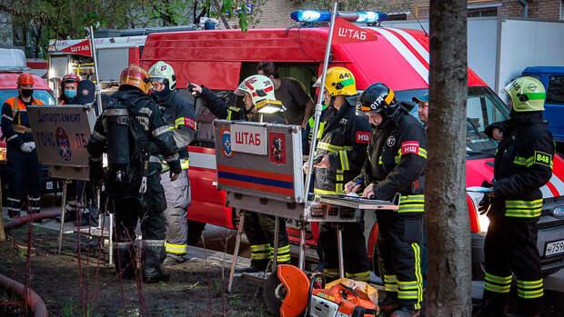 СК назвал главную версию пожара в гостинице в Москве