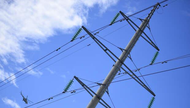 В Подольске натянули провода электропередачи после жалобы жителя