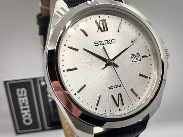 Качественные японские часы от Seiko для любителей классики