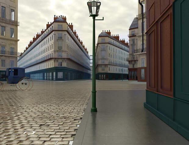 Как бы выглядели в реальности локации со знаменитых полотен