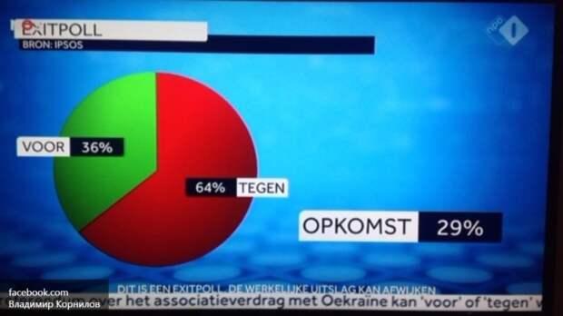 Голландские политики призвали уважать результаты референдума