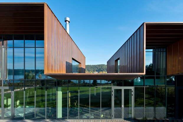 Стильный трёхкомнатный дом в Литве